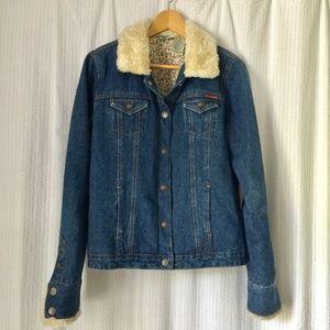 Roxy Denim Sherpa Jacket